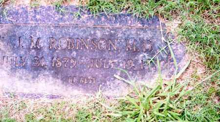 ROBINSON, M.D., J. M. - Pulaski County, Arkansas | J. M. ROBINSON, M.D. - Arkansas Gravestone Photos