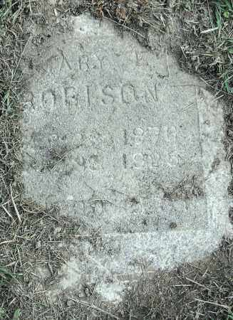 ROBISON, MARY E - Pulaski County, Arkansas | MARY E ROBISON - Arkansas Gravestone Photos