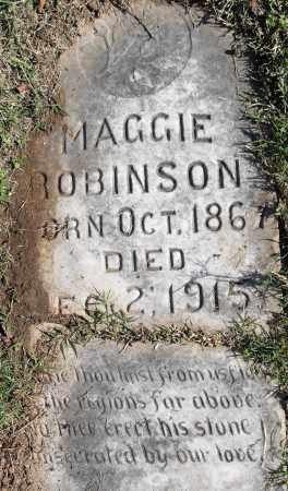 ROBINSON, MAGGIE - Pulaski County, Arkansas | MAGGIE ROBINSON - Arkansas Gravestone Photos