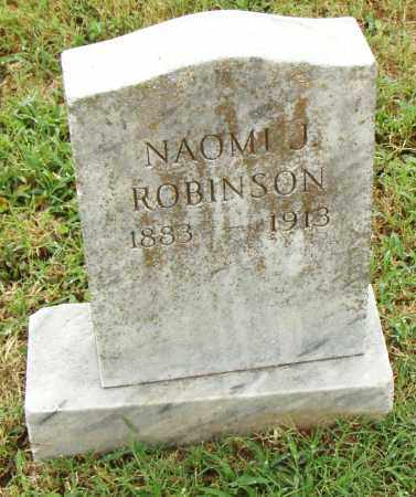 ROBINSON, NAOMI J. - Pulaski County, Arkansas | NAOMI J. ROBINSON - Arkansas Gravestone Photos