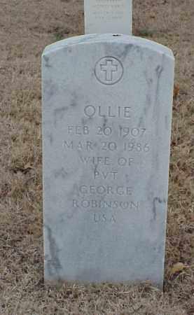 ROBINSON, OLLIE - Pulaski County, Arkansas | OLLIE ROBINSON - Arkansas Gravestone Photos