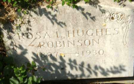 HUGHES ROBINSON, ROSA L. - Pulaski County, Arkansas | ROSA L. HUGHES ROBINSON - Arkansas Gravestone Photos