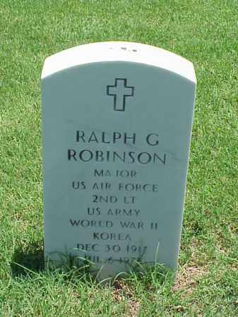 ROBINSON (VETERAN 2 WARS), RALPH G - Pulaski County, Arkansas | RALPH G ROBINSON (VETERAN 2 WARS) - Arkansas Gravestone Photos
