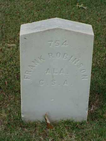 ROBINSON (VETERAN CSA), FRANK - Pulaski County, Arkansas | FRANK ROBINSON (VETERAN CSA) - Arkansas Gravestone Photos