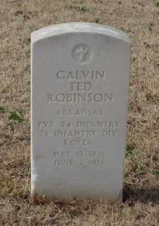 ROBINSON (VETERAN KOR), CALVIN TED - Pulaski County, Arkansas | CALVIN TED ROBINSON (VETERAN KOR) - Arkansas Gravestone Photos