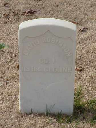 ROBINSON (VETERAN UNION), DAVID - Pulaski County, Arkansas | DAVID ROBINSON (VETERAN UNION) - Arkansas Gravestone Photos