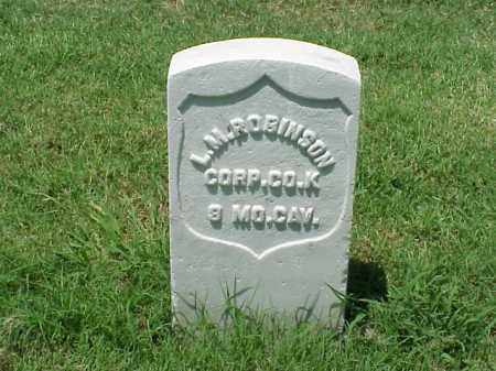 ROBINSON (VETERAN UNION), LEWIS M - Pulaski County, Arkansas   LEWIS M ROBINSON (VETERAN UNION) - Arkansas Gravestone Photos
