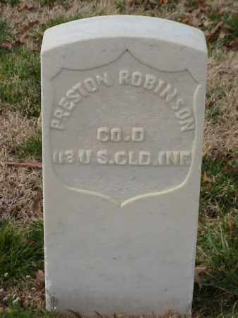 ROBINSON (VETERAN UNION), PRESTON - Pulaski County, Arkansas | PRESTON ROBINSON (VETERAN UNION) - Arkansas Gravestone Photos