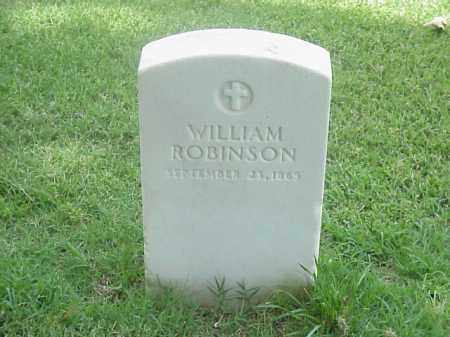 ROBINSON, WILLIAM - Pulaski County, Arkansas | WILLIAM ROBINSON - Arkansas Gravestone Photos