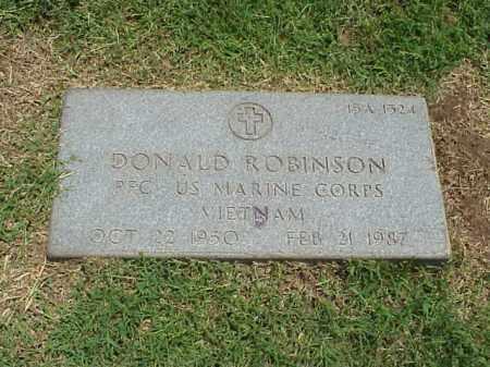 ROBINSON (VETERAN VIET), DONALD - Pulaski County, Arkansas | DONALD ROBINSON (VETERAN VIET) - Arkansas Gravestone Photos