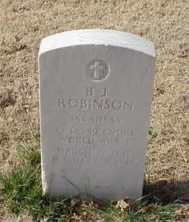 ROBINSON (VETERAN WWI), B J - Pulaski County, Arkansas | B J ROBINSON (VETERAN WWI) - Arkansas Gravestone Photos