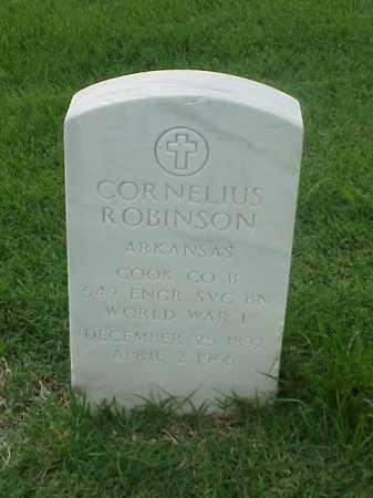 ROBINSON (VETERAN WWI), CORNELIUS - Pulaski County, Arkansas | CORNELIUS ROBINSON (VETERAN WWI) - Arkansas Gravestone Photos