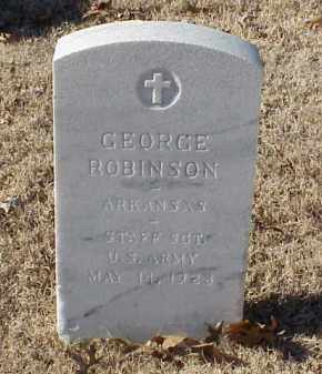 ROBINSON (VETERAN WWI), GEORGE - Pulaski County, Arkansas | GEORGE ROBINSON (VETERAN WWI) - Arkansas Gravestone Photos