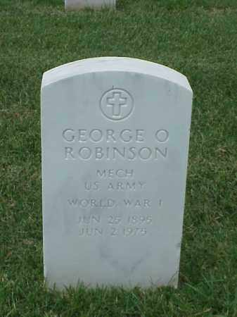 ROBINSON (VETERAN WWI), GEORGE O - Pulaski County, Arkansas | GEORGE O ROBINSON (VETERAN WWI) - Arkansas Gravestone Photos
