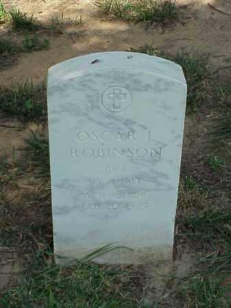 ROBINSON (VETERAN WWI), OSCAR L - Pulaski County, Arkansas | OSCAR L ROBINSON (VETERAN WWI) - Arkansas Gravestone Photos