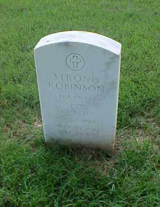 ROBINSON (VETERAN WWI), STRONG - Pulaski County, Arkansas | STRONG ROBINSON (VETERAN WWI) - Arkansas Gravestone Photos