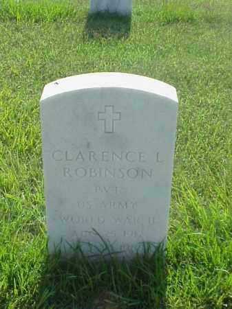 ROBINSON (VETERAN WWII), CLARENCE L - Pulaski County, Arkansas | CLARENCE L ROBINSON (VETERAN WWII) - Arkansas Gravestone Photos