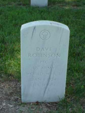 ROBINSON (VETERAN WWII), DAVE - Pulaski County, Arkansas | DAVE ROBINSON (VETERAN WWII) - Arkansas Gravestone Photos
