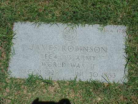 ROBINSON (VETERAN WWII), JAMES - Pulaski County, Arkansas | JAMES ROBINSON (VETERAN WWII) - Arkansas Gravestone Photos