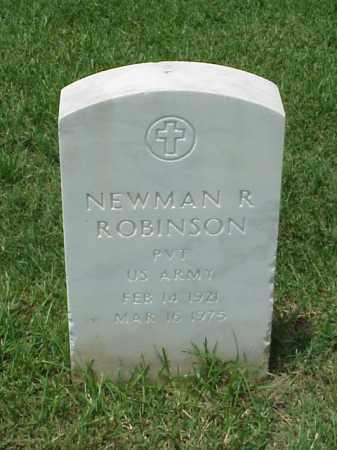 ROBINSON (VETERAN WWII), NEWMAN R - Pulaski County, Arkansas | NEWMAN R ROBINSON (VETERAN WWII) - Arkansas Gravestone Photos