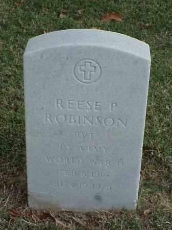 ROBINSON (VETERAN WWII), REESE P - Pulaski County, Arkansas | REESE P ROBINSON (VETERAN WWII) - Arkansas Gravestone Photos