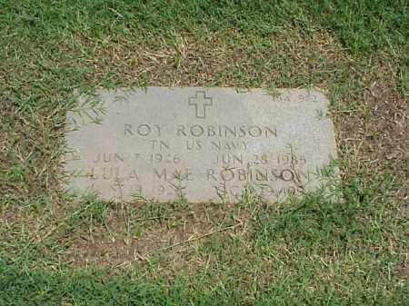 ROBINSON (VETERAN WWII), ROY - Pulaski County, Arkansas | ROY ROBINSON (VETERAN WWII) - Arkansas Gravestone Photos