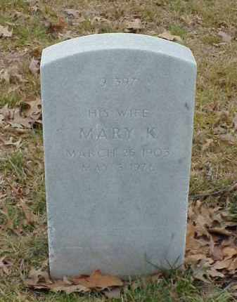 ROBISON, MARY K - Pulaski County, Arkansas   MARY K ROBISON - Arkansas Gravestone Photos