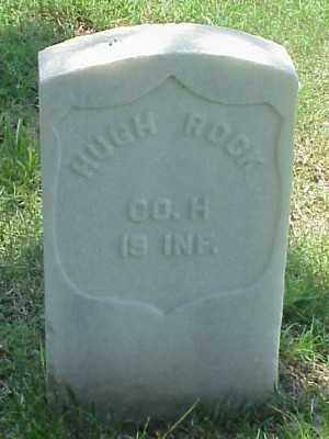 ROCK (VETERAN UNION), HUGH - Pulaski County, Arkansas | HUGH ROCK (VETERAN UNION) - Arkansas Gravestone Photos