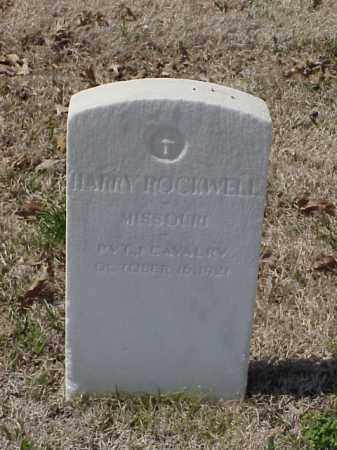 ROCKWELL (VETERAN), HARRY - Pulaski County, Arkansas | HARRY ROCKWELL (VETERAN) - Arkansas Gravestone Photos