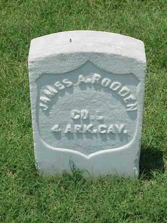 RODDEN (VETERAN UNION), JAMES A - Pulaski County, Arkansas | JAMES A RODDEN (VETERAN UNION) - Arkansas Gravestone Photos