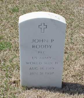 RODDY (VETERAN WWII), JOHN P - Pulaski County, Arkansas | JOHN P RODDY (VETERAN WWII) - Arkansas Gravestone Photos