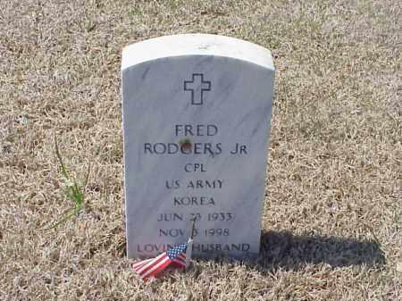 RODGERS, JR (VETERAN KOR), FRED - Pulaski County, Arkansas | FRED RODGERS, JR (VETERAN KOR) - Arkansas Gravestone Photos