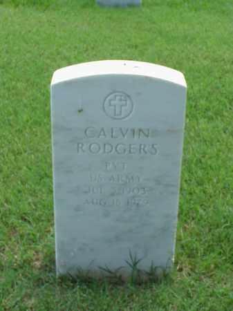 RODGERS (VETERAN), CALVIN - Pulaski County, Arkansas | CALVIN RODGERS (VETERAN) - Arkansas Gravestone Photos