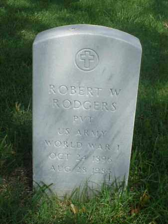RODGERS (VETERAN WWI), ROBERT W - Pulaski County, Arkansas | ROBERT W RODGERS (VETERAN WWI) - Arkansas Gravestone Photos
