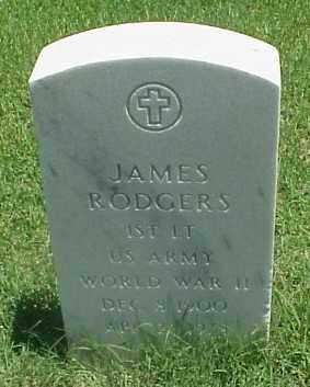 RODGERS (VETERAN WWII), JAMES - Pulaski County, Arkansas | JAMES RODGERS (VETERAN WWII) - Arkansas Gravestone Photos