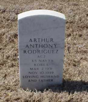 RODRIGUEZ (VETERAN KOR), ARTHUR ANTHONY - Pulaski County, Arkansas | ARTHUR ANTHONY RODRIGUEZ (VETERAN KOR) - Arkansas Gravestone Photos