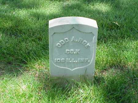 ROE (VETERAN UNION), ODD A - Pulaski County, Arkansas | ODD A ROE (VETERAN UNION) - Arkansas Gravestone Photos