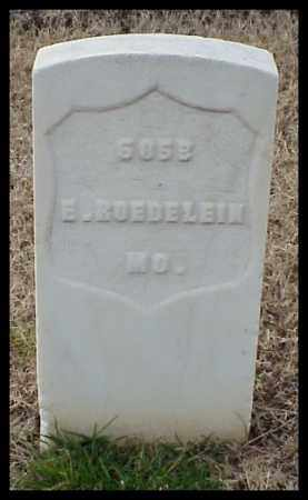 ROEDELIN (VETERAN UNION), ERNST - Pulaski County, Arkansas | ERNST ROEDELIN (VETERAN UNION) - Arkansas Gravestone Photos