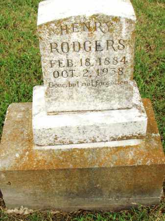 ROGERS, HENRY - Pulaski County, Arkansas | HENRY ROGERS - Arkansas Gravestone Photos