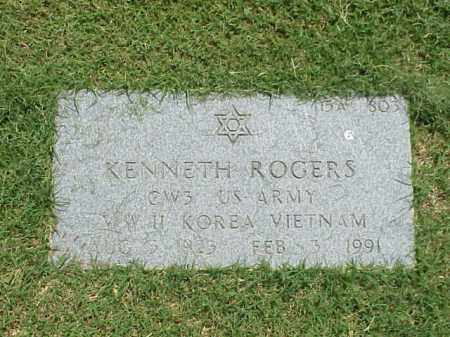 ROGERS (VETERAN 3 WARS), KENNETH - Pulaski County, Arkansas | KENNETH ROGERS (VETERAN 3 WARS) - Arkansas Gravestone Photos