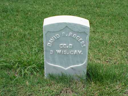ROGERS (VETERAN UNION), DAVID R - Pulaski County, Arkansas | DAVID R ROGERS (VETERAN UNION) - Arkansas Gravestone Photos