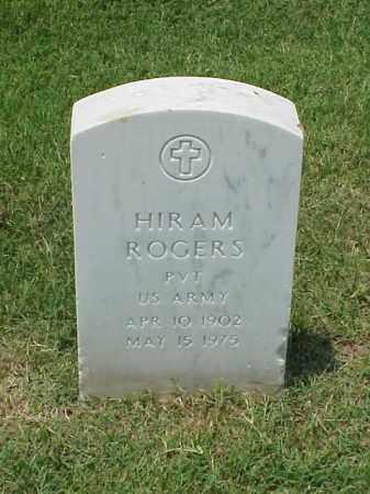 ROGERS (VETERAN WWI), HIRAM - Pulaski County, Arkansas | HIRAM ROGERS (VETERAN WWI) - Arkansas Gravestone Photos