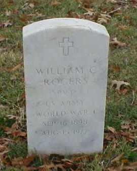 ROGERS (VETERAN WWI), WILLIAM C - Pulaski County, Arkansas | WILLIAM C ROGERS (VETERAN WWI) - Arkansas Gravestone Photos