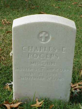 ROGERS (VETERAN WWII), CHARLES E - Pulaski County, Arkansas | CHARLES E ROGERS (VETERAN WWII) - Arkansas Gravestone Photos