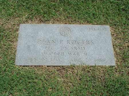 ROGERS (VETERAN WWII), DEAN P - Pulaski County, Arkansas | DEAN P ROGERS (VETERAN WWII) - Arkansas Gravestone Photos