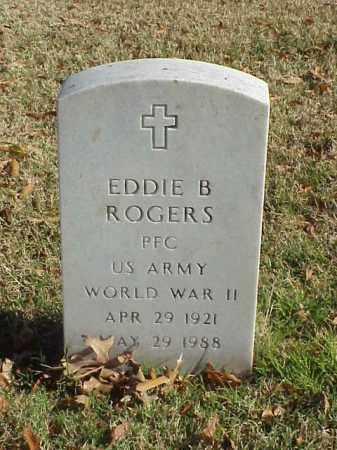 ROGERS (VETERAN WWII), EDDIE B - Pulaski County, Arkansas | EDDIE B ROGERS (VETERAN WWII) - Arkansas Gravestone Photos