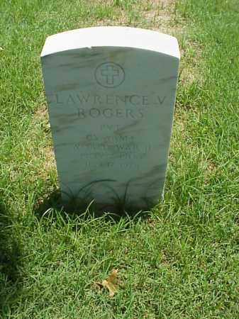 ROGERS (VETERAN WWII), LAWRENCE V - Pulaski County, Arkansas | LAWRENCE V ROGERS (VETERAN WWII) - Arkansas Gravestone Photos
