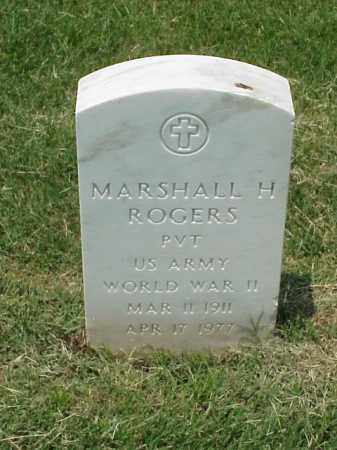 ROGERS (VETERAN WWII), MARSHALL H - Pulaski County, Arkansas | MARSHALL H ROGERS (VETERAN WWII) - Arkansas Gravestone Photos