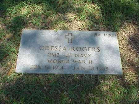 ROGERS (VETERAN WWII), ODESSA - Pulaski County, Arkansas | ODESSA ROGERS (VETERAN WWII) - Arkansas Gravestone Photos