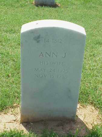 ROLLER, ANN J - Pulaski County, Arkansas | ANN J ROLLER - Arkansas Gravestone Photos